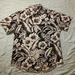 *Custom Fit* Polo by Ralph Lauren Large Floral!